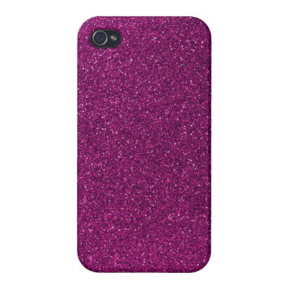 Pink Glitter Cover For iPhone 4