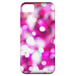 Pink Glitter Macro Blur Photo on a iphone case iPhone 5 Cover