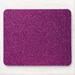Pink Glitter Mousepad