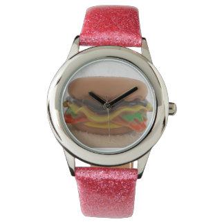 Pink Glitter Watch