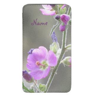 Pink Globe Mallow Wildflowers