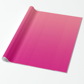 Pink Glossy Wrapping Paper