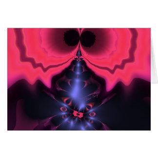 Pink Goblin – Magenta & Violet Delight Greeting Card