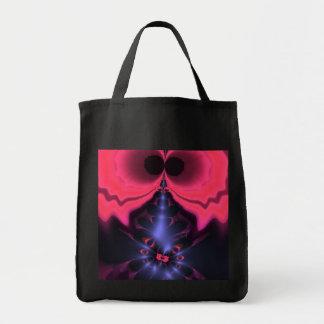 Pink Goblin – Magenta & Violet Delight Grocery Tote Bag