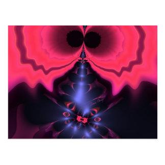 Pink Goblin – Magenta & Violet Delight Postcard
