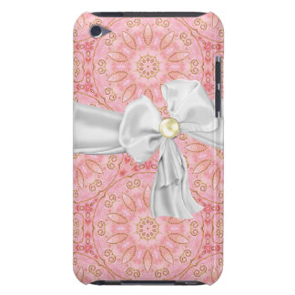 Pink, Gold and White iPod Touch Case