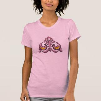 Pink & Gold Celtic Art Design T-shirts