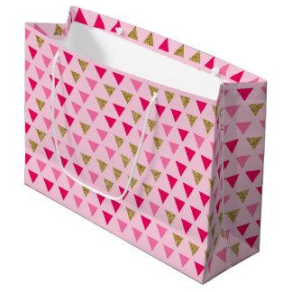Pink gold Gift Bag