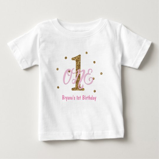 Pink & Gold Girls ONE 1st Birthday Party