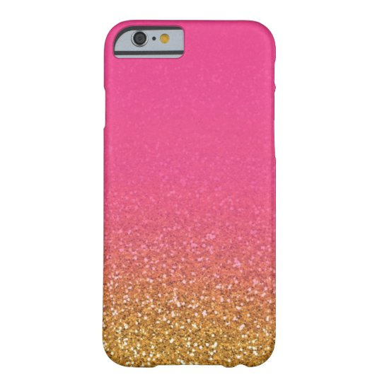 Pink/Gold Glitter IPhone 6 Case
