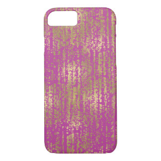 Pink Gold Jewel Bokeh Abstract iPhone 8/7 Case