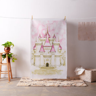 Pink Gold Princess Photo Booth Photo Backdrop