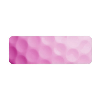 Pink Golf Ball Background Customized Template