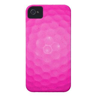 Pink Golf Ball iPhone 4 Case