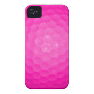 Pink Golf Ball iPhone 4 Covers