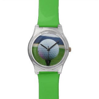 Pink Golf Ball on a mountain golf course Watch