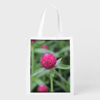 Pink Gomphrena Flower