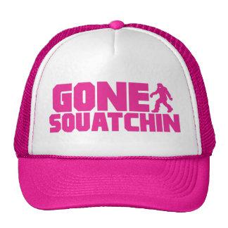 PINK GONE SQUATCHIN Trucker Hat *BEST VERSION*