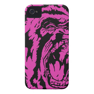 Pink Gorilla iPhone 4 Cover