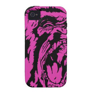 Pink Gorilla Vibe iPhone 4 Cases
