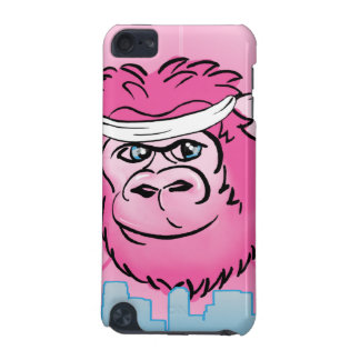 Pink Gorilla with Sweatband iPod Touch 5G Covers