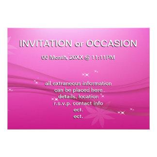 pink grace invite