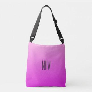 Pink Gradient custom monogram bags