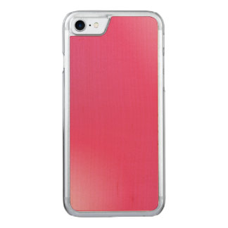 Pink Gradient Pattern Carved iPhone 8/7 Case