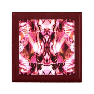 Pink graffiti pattern gift box