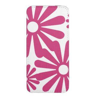 Pink Graphic Daisy Flower