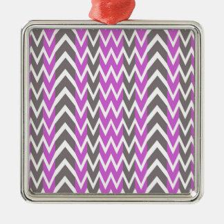 Pink Gray Hump Christmas Ornament