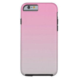 Pink & Gray Ombre Tough iPhone 6 Case