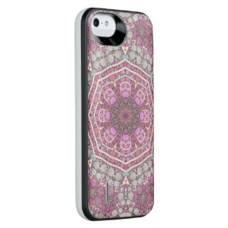 Pink Green Abstract iPhone 6 Plus Case