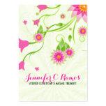 Pink & Green Elegant Floral Design
