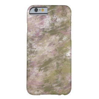 Pink Green Grunge Abstract Barely There iPhone 6 Case