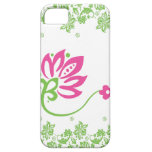 Pink & Green Paisley Pocket Case for iPhone4 iPhone 5 Covers