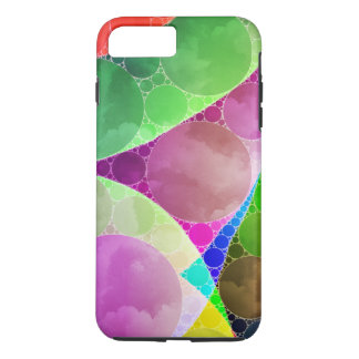 Pink Green Purple Abstract iPhone 7 Plus Case