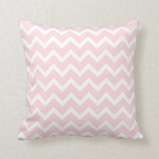 Pink Grey Chevron modern decor sofa pillow