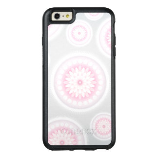 Pink Grey Floral Medallions OtterBox Phone Case