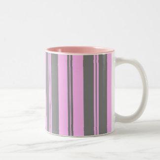 Pink & Grey Two-Tone Mug