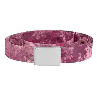 Pink Grunge Collage Belt