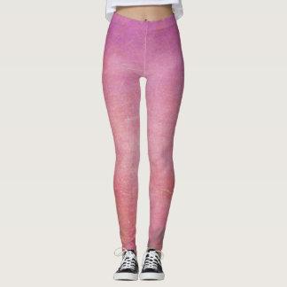 Pink Grunge Leggings