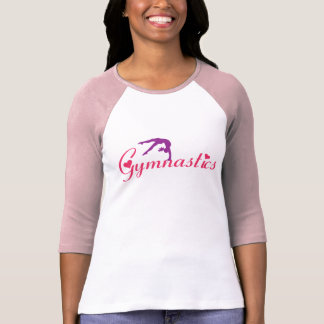 Pink Gymnastics Longsleeve Shirt for girl