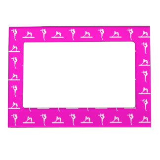 Pink Gymnastics Magnetic Picture Frame