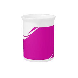 Pink Hair Girl Pitcher