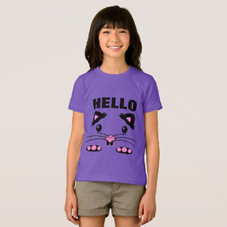 Pink hamster mouse t-shirt