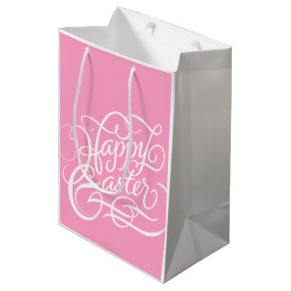 PINK HAPPY EASTER | PAPER BAG