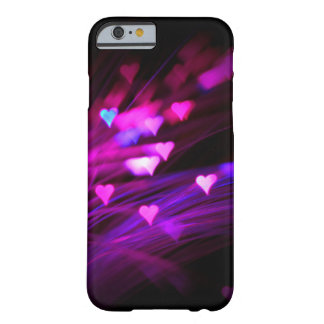 Pink hart bokeh iPhone 6 case