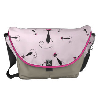 Pink Hat Kitty Cat Commuter Bag