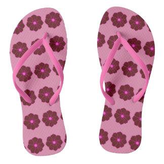 Pink Hawaiian Hawaii Cruise Sandals Gift